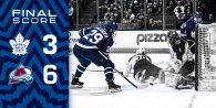 Game 45: Colorado Avalanche VS Toronto Maple Leafs (L 6-3)