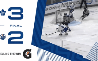 Game 68: Toronto Maple Leafs vs Edmonton Oilers (W 3-2)