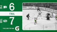 Game 71: Philadelphia Flyers VS Toronto St Pats (W 7-6)