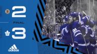 ECQF Game 3: Boston Bruins @ Toronto Maple Leafs (W 3-2)