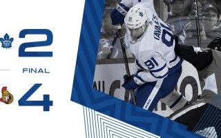 Game 78: Toronto Maple Leafs VS Ottawa Senators (L 4-2)