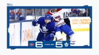 Game 3: Montreal Canadiens @ Toronto Maple Leafs (SOL 6-5)