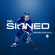 Maple Leafs Sign Engvall to Contract Extension