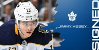Maple Leafs Sign Jimmy Vesey