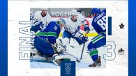 Game 25: Toronto Maple Leafs 1 – 3 Vancouver Canucks