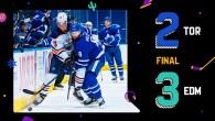 Game 35: Edmonton Oilers 3 – 2 Toronto Maple Leafs (OTL)