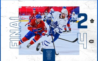 Game 42: Toronto Maple Leafs 2 – 4 Montreal Canadiens