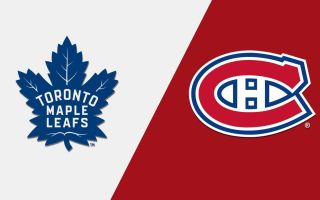 Game 1: Montreal Canadiens @ Toronto Maple Leafs