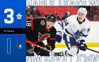 Pre-Season Game 4: Toronto Maple Leafs @ Ottawa Senators