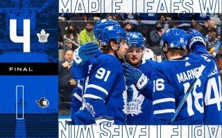 Pre-Season Game 6: Ottawa Senators @ Toronto Maple Leafs