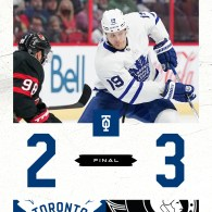 Game 2: Toronto Maple Leafs @ Ottawa Senators