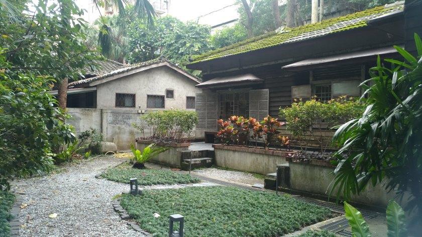 台北「 青田七六 」的幽靜院落
