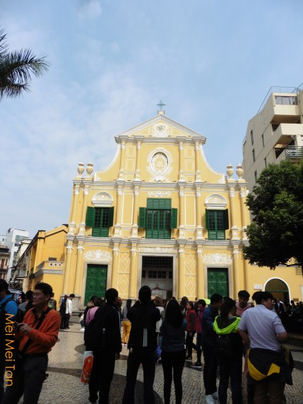 Travel-Macao-Historic Center of Macao-Rosary Church-20180210