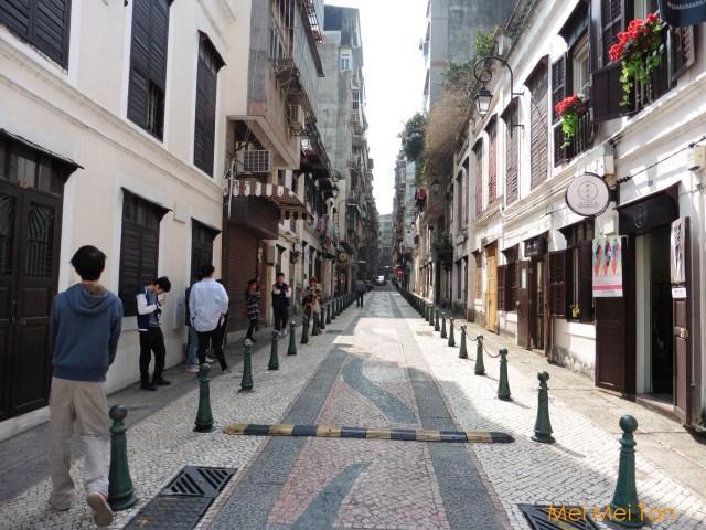 Travel-Macao-Calçada da Igreja de S. Lázaro-Street-2-20180210