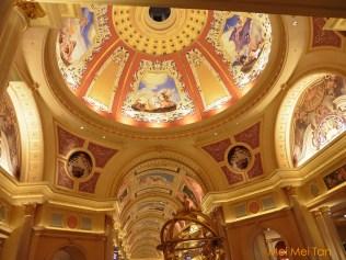 威尼斯人酒店天頂壁畫