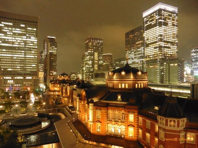 東京 Kitte屋上庭園 東京車站夜景
