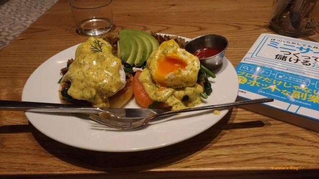 東京 代官山 Blu Jam Cafe 班尼克蛋早午餐