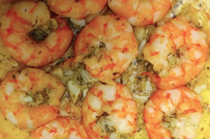 週末食譜:奶油香蒜烤蝦 ,夏日配啤酒好物