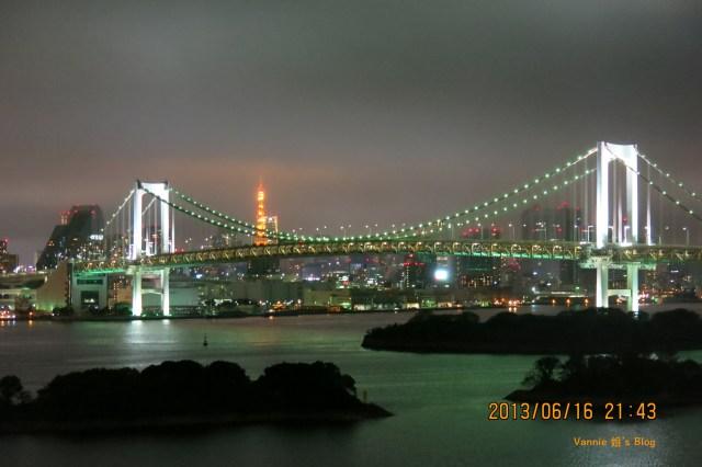 東京夜景飯店 東京日航飯店陽台夜景