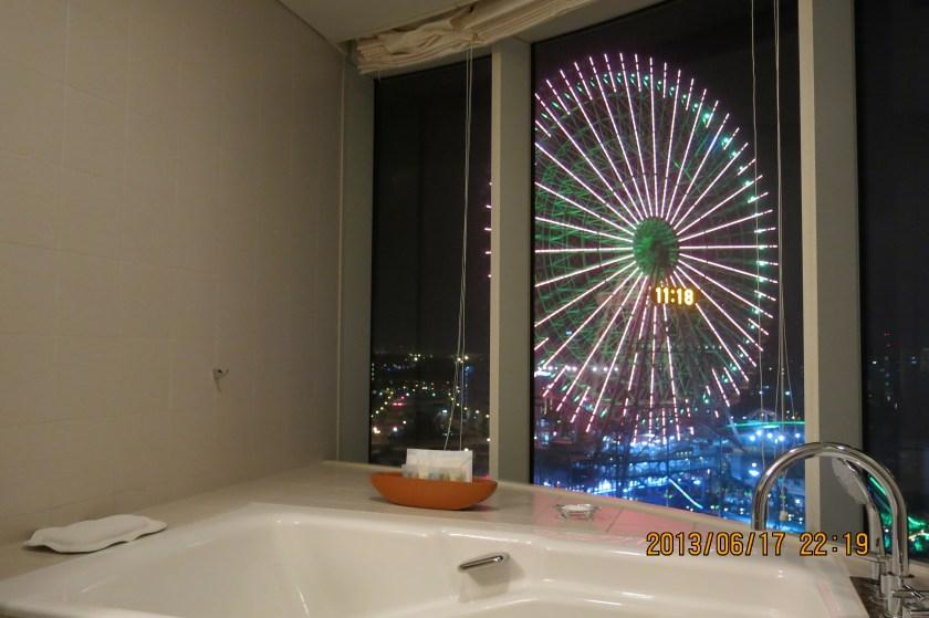 東京夜景飯店 橫濱灣東急大飯店 浴室摩天輪