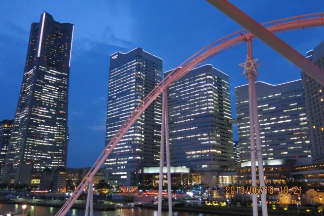 Yokohama night view from Amuse Cosmos Fantasia Kids