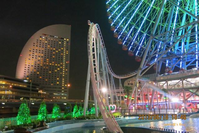 東京夜景飯店 橫濱灣東急大飯店 旁遊園地 Amuse Cosmos Fantasia Kids