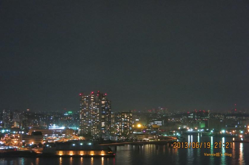 東京夜景飯店 橫濱洲際大飯店 房間看出去的夜景