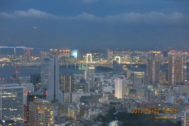 Tokyo Roppongi Hills Night View_Odaiba