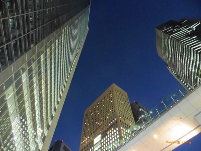東京高樓夜景 - 汐留