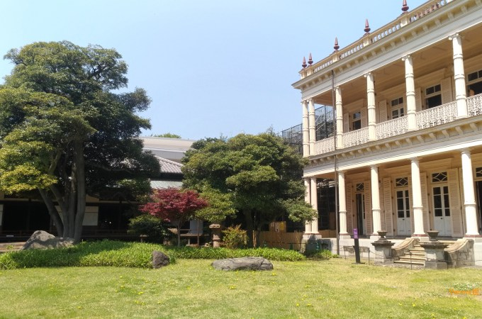 舊岩崎邸庭園 &畫家的雅緻小居~於東京上野