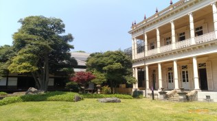 舊岩崎邸庭園 陽台