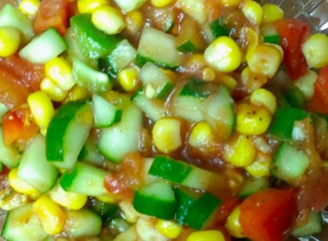 墨西哥黃瓜沙拉