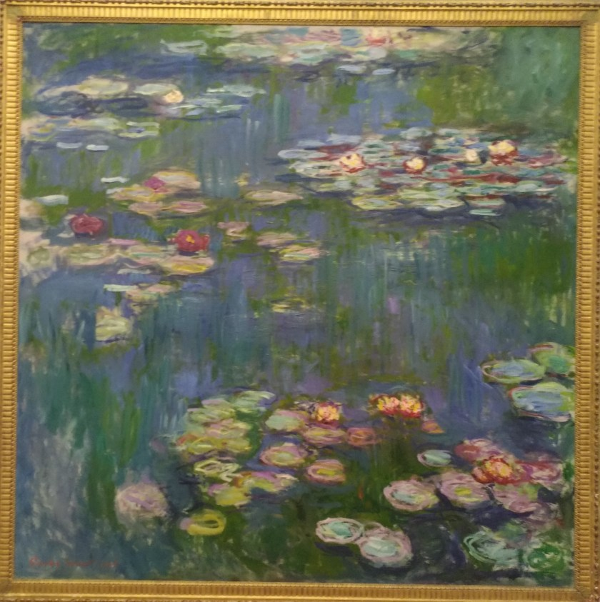 Tokyo-Ueno-the National Museum of Western Art-Monet-Water Lilly-20180420