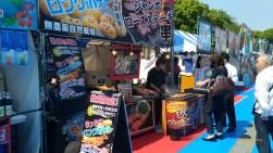 上野恩賜公園集合日本各地美食的攤位