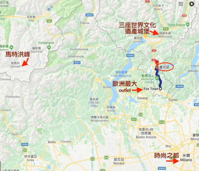 Map-around-Lugano