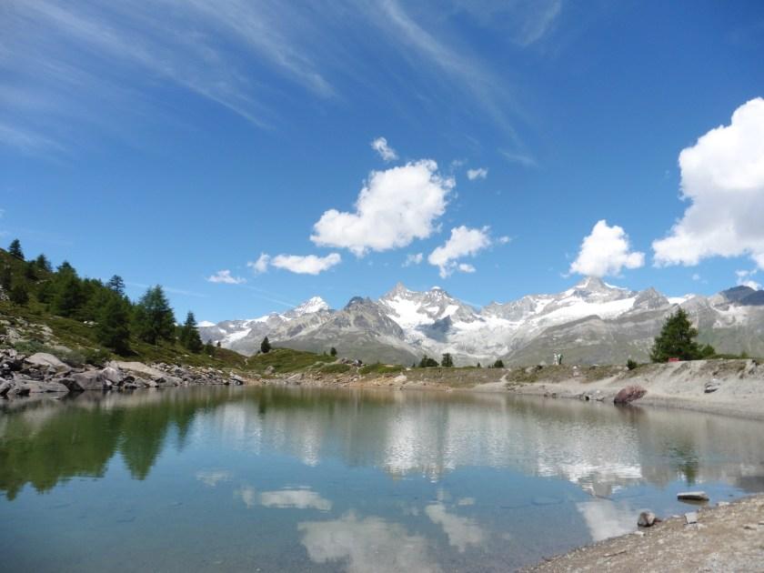 策馬特五湖健行 第三個湖 Grunsee