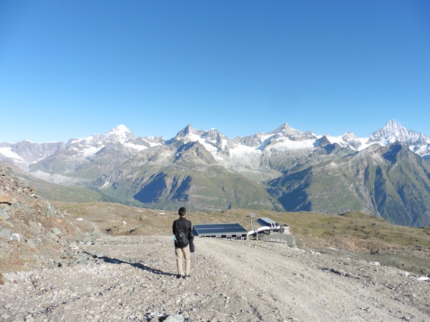 Hiking from Gornergrat