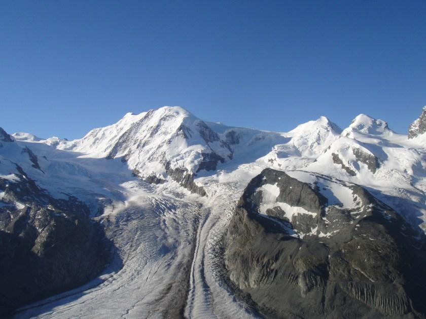 View of Glacier from Gornergrat