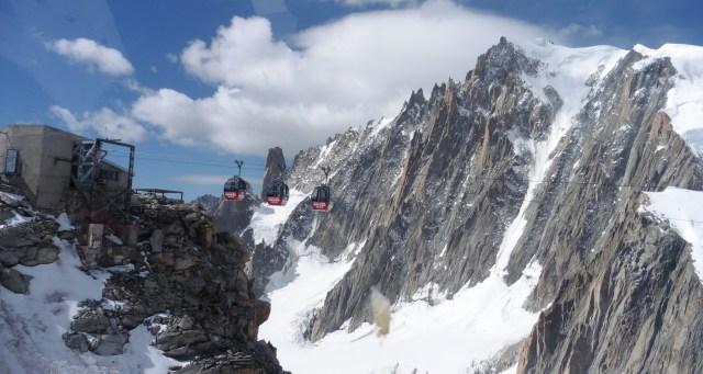 霞慕尼 重點行程 Vallée-Blanche-Cable Car 往 Punta Helbronner