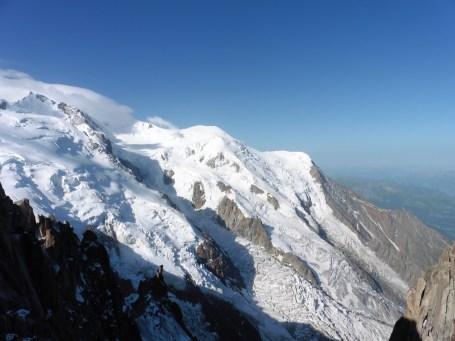 霞慕尼 Chamonix 南針峰的風景