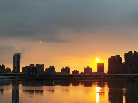 大稻埕碼頭 夕陽