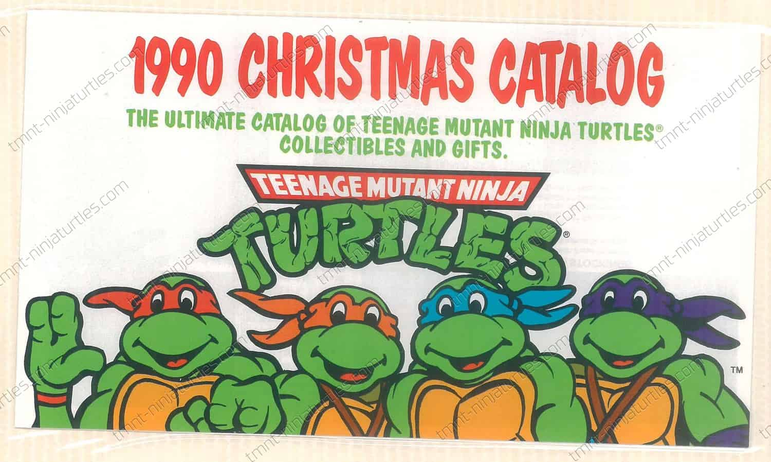 Scrapbook - 1990 TMNT Christmas Catalog - TMNT - Teenage Mutant ...