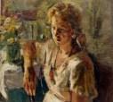 Geli-Korzhev-Girls-Portrait-1948-Oil-on-Canvas-23-x-25-300x270
