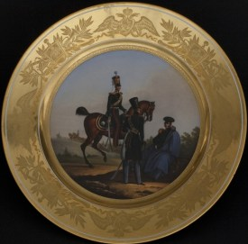 Military plate, Horse Guards Regiment Service, c. 1831