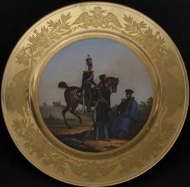 Military plate, Horse Guards Regiment Service, c. 1831