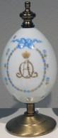 Presentation Easter egg (cipher of Alexandra Fedorovna), 1914-