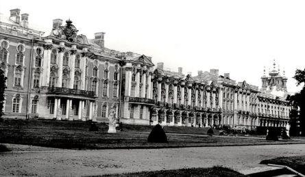 William C. Brumfield. Tsarskoe Selo. Catherine Palace. Park Façade.. 1988. Photograph.