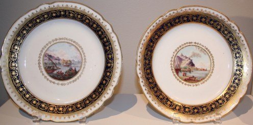 Pair of Plates, Yusupov Service, 1798