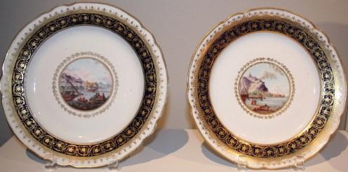 Pair of Plates, Yusupov Service, 1798