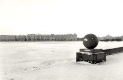 William C. Brumfield. Winter Palace from the Vasilievsky Island Point.. 1988. Photograph. 9 x 13 in..